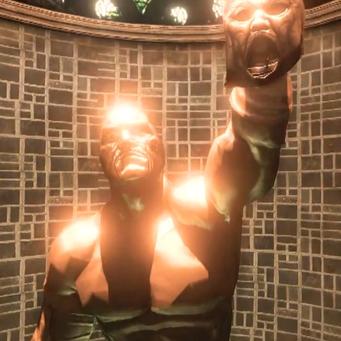 Killbane statue