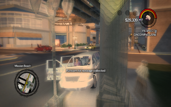 Hostage ransom collected in Saints Row 2