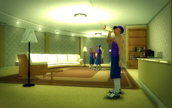 Saints Row Mega Condo - Average - living room