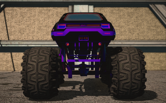 Saints Row IV variants - Cyber Bootlegger XL Chopshop - rear