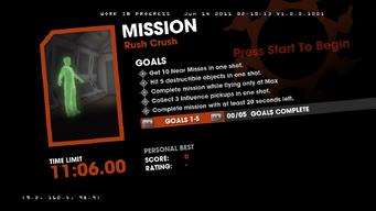 Saints Row Money Shot Mission objectives - Rush Crush
