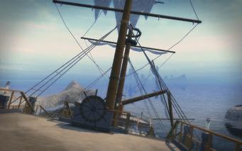 Shipwreck Cove - deck