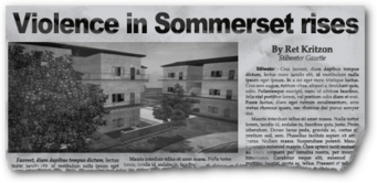 Newspaper sh bh apartments Sommerset Apartments