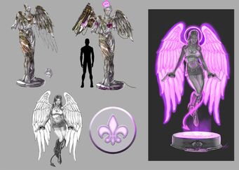 Saint of all Saints concept art - Saints Row 2 changes
