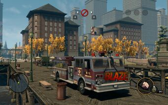 Blaze with logo in Saints Row The Third
