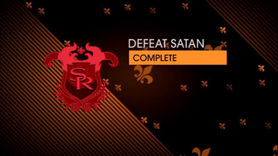 Saints Row Gat out of Hell - Mission - Defeat Satan Complete