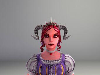 Jezebel Model - face