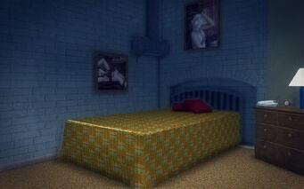 Red Light Loft - Classy - bed