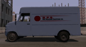Delivery Truck - left in Saints Row