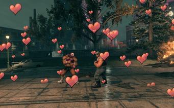Tour de Farce - love hearts
