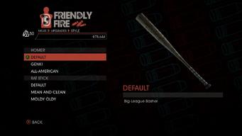 Weapon - Melee - Baseball Bat - Homer - Default