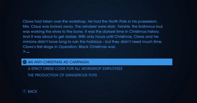 File:Christmas Text Adventures - A Christmas Peril - first choice.png