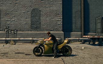 Kaneda - left in Saints Row The Third