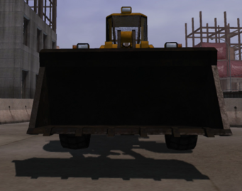 Bulldozer in Saints Row - front