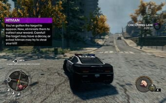 Assassination tutorial after target appears in Saints Row The Third