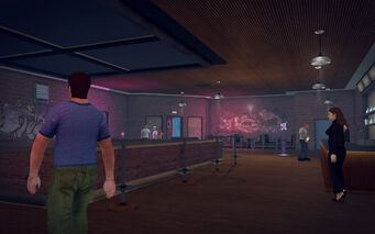 On Track in Saints Row 2 - interior upper level