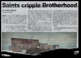 Newspaper bh10 The Siege