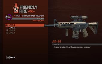 AR-55 Level 1 description