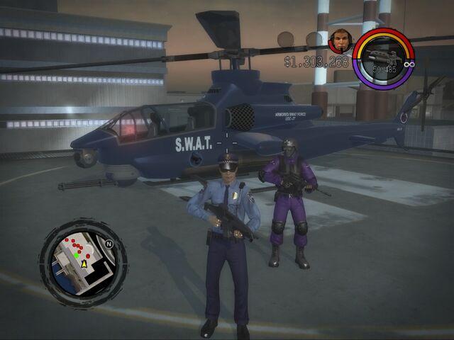 File:SWAT Tornado on helipad in Saints Row 2.jpg