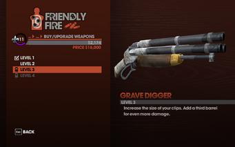 Grave Digger - Level 3 description
