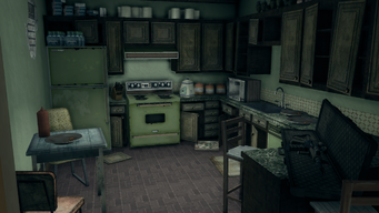 Shaundi's Loft - kitchen