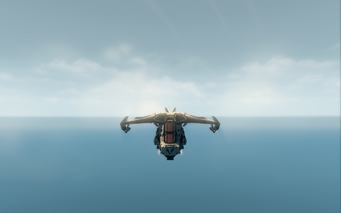 Condor - jet mode - front in Saints Row The Third