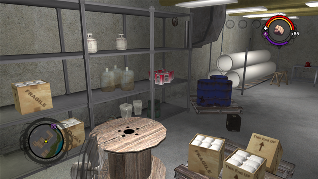 File:Drug Factory interior second room view of the west wall in Saints Row.png