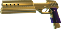 SRIV SMGs - Rapid-Fire SMG - Cyborg Pistol - Gold-Plated