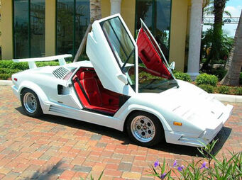 Superiore - real life Lamborghini Countach