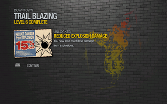 Reduced Explosion Damage 2 unlocked SR2