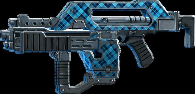 File:SRIV Rifles - Burst Rifle - Impulse Rifle - Blue Plaid.png