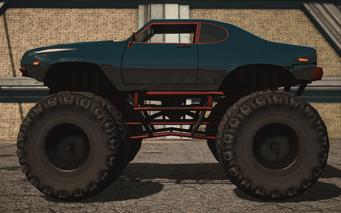 Saints Row IV variants - Bootlegger XL - Chopshop variant - left