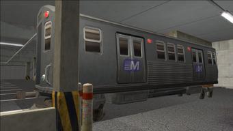 Saints Row variants - El Train - El Train Rear - front left