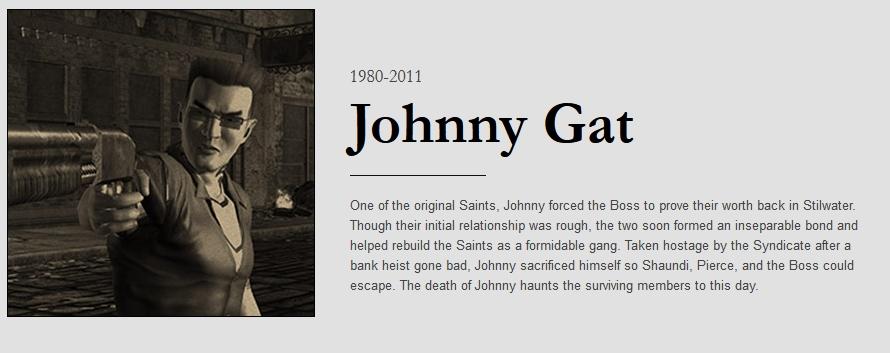 Johnny obituary with dates