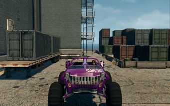 Saints Raider - front in Saints Row The Third