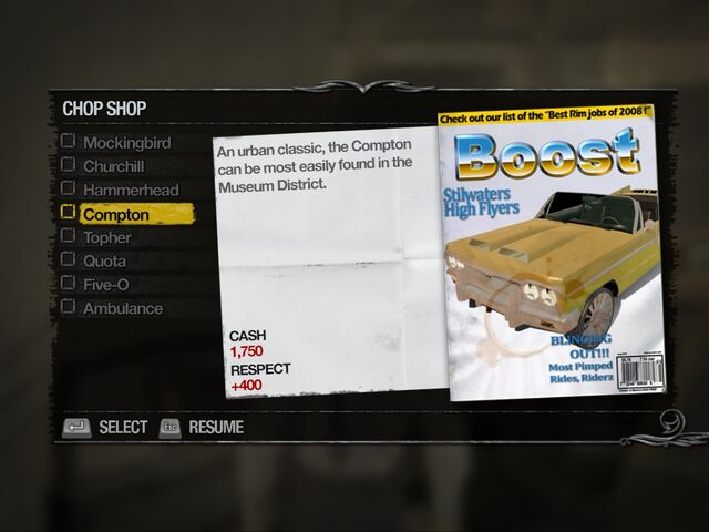 File:Compton - Suburbs Chop Shop list in Saints Row 2.jpg