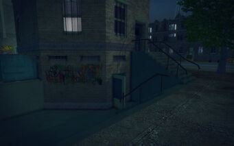 Red Light Loft - stairs
