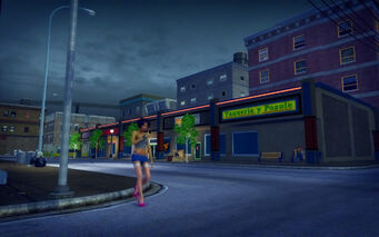 Southern Cross in Saints Row 2 - Taqueria y Pozole