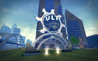 Mission Beach in Saints Row 2 - Ultor monument