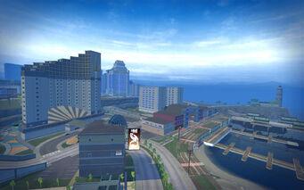 Stilwater Boardwalk - aerial view
