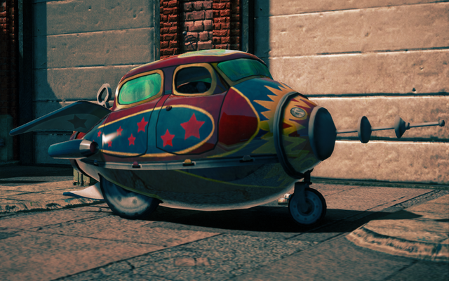 File:Retro Rocket - front left parked in Saints Row IV.png