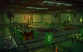 The Mills in Saints Row 2 - Mr Sunshine's lair
