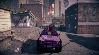 Saints N-Forcer in Saints Row IV - front