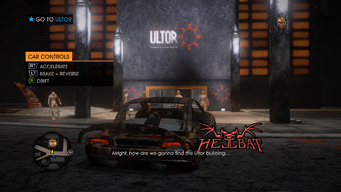 Go to Hell - Gat cannot find the Ultor building