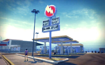 Sommerset in Saints Row 2 - Gas Station