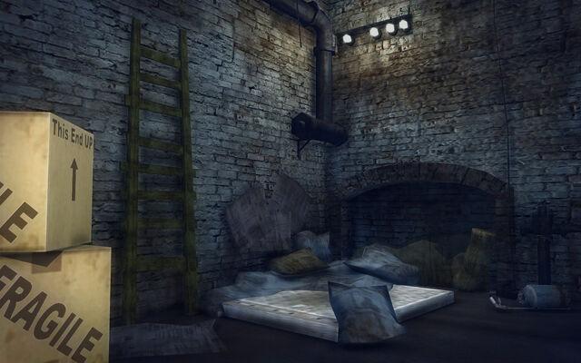 File:Red Light Loft - Cheap - bed.jpg