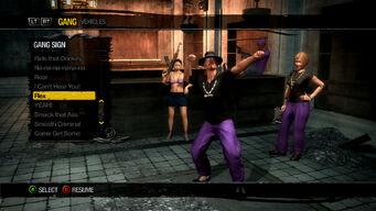 Gang Customization in Saints Row 2 - Gang Sign