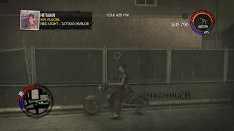 Melbourne - left with logo in Saints Row 2