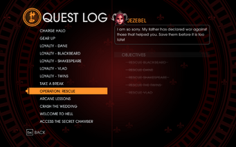 Gat out of Hell - Completed Quests - Operation Rescue