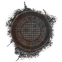 File:Old Stilwater manhole cover texture.png
